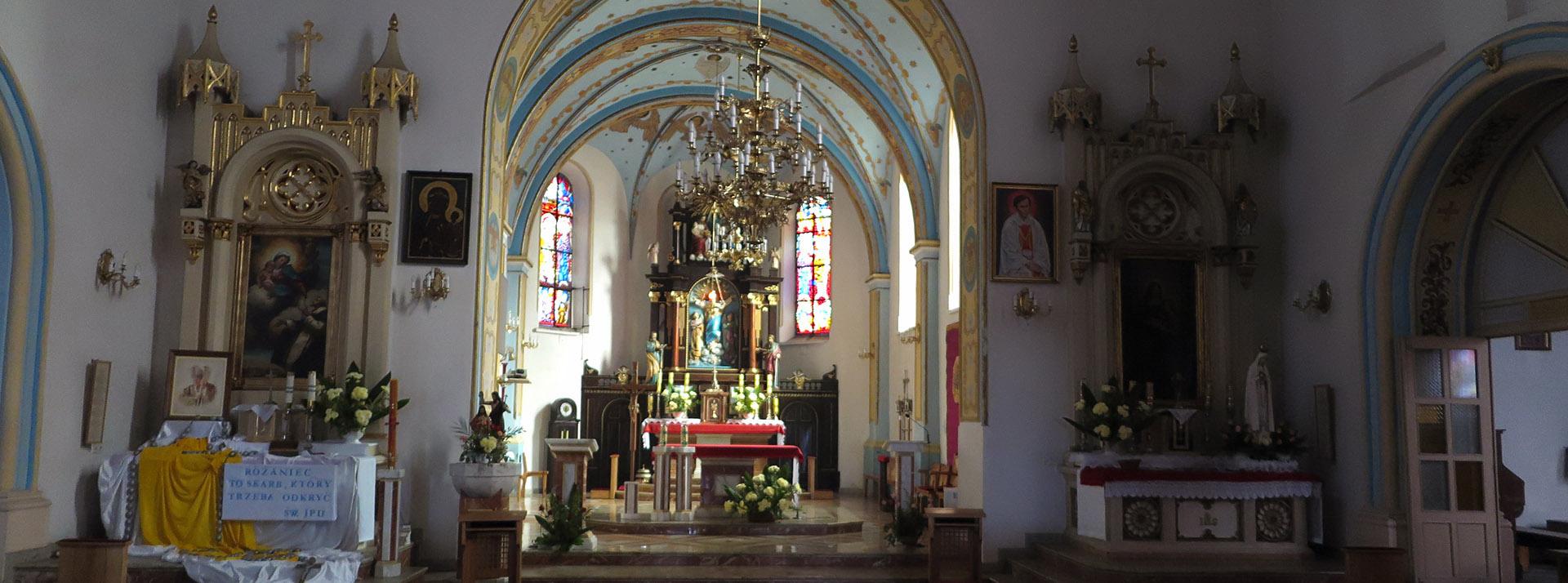 Serdecznie witamy na stronie kościoła rzymskokatolickiego pw. Wniebowzięcia Najświętszej Maryi Panny w Radziejowie